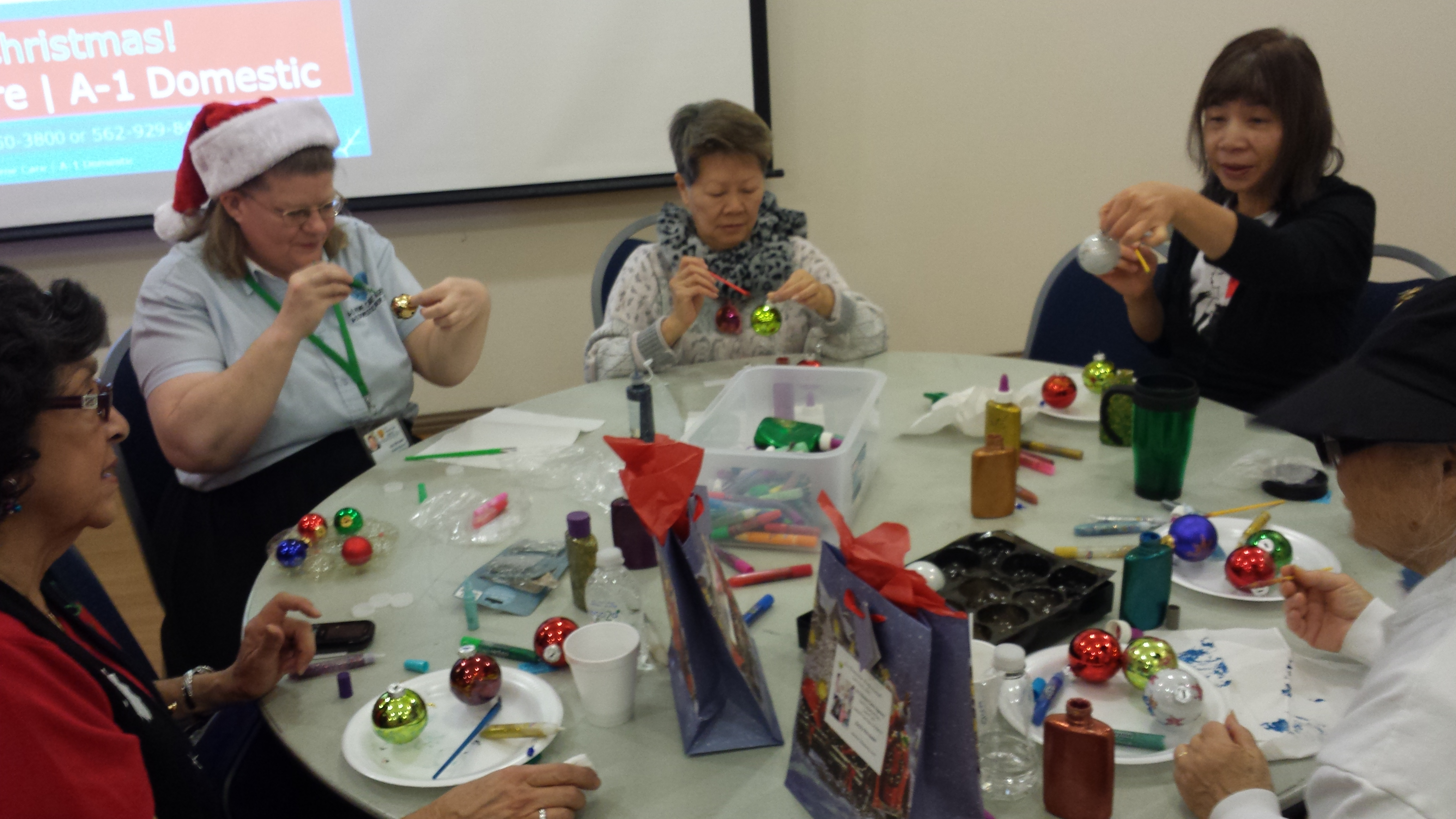 Do You Run Crafts For The Elderly, Or The Older Person